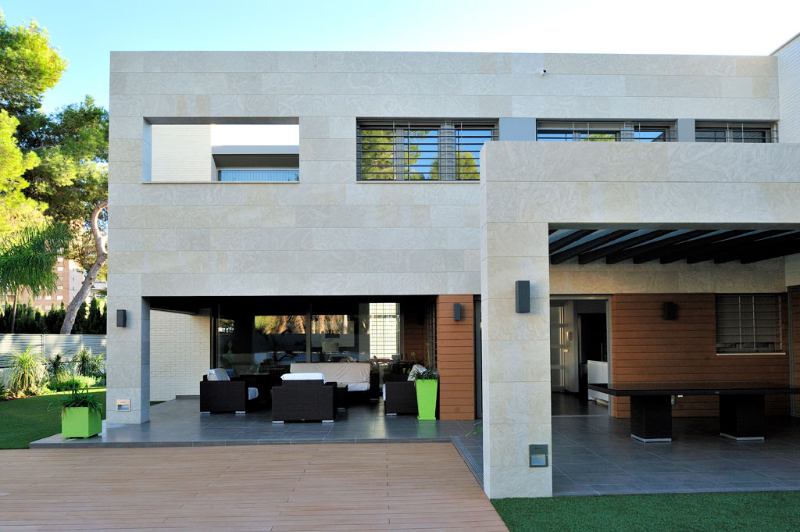 Construcci n chalet - Materiales de construccion para fachadas ...