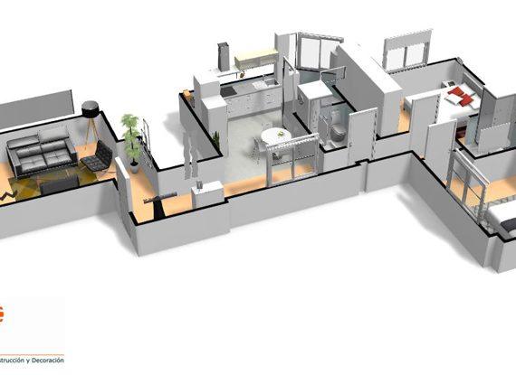 Reformas pisos en Murcia